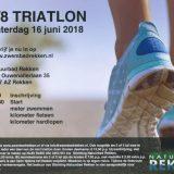 Mini-Triatlon zaterdag 16 juni 2018